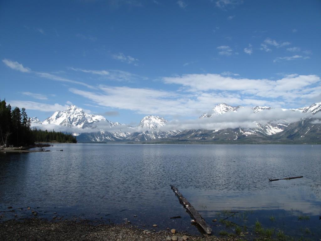 Jackson Lake + Tetons