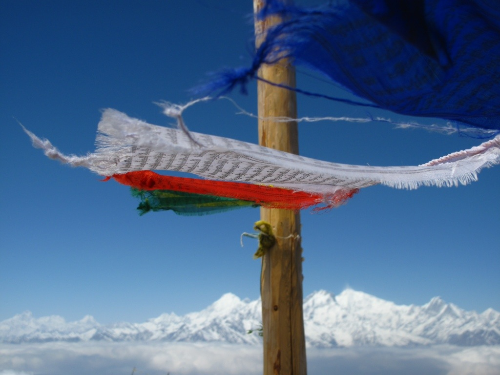 Wind Horses Over Annapurna