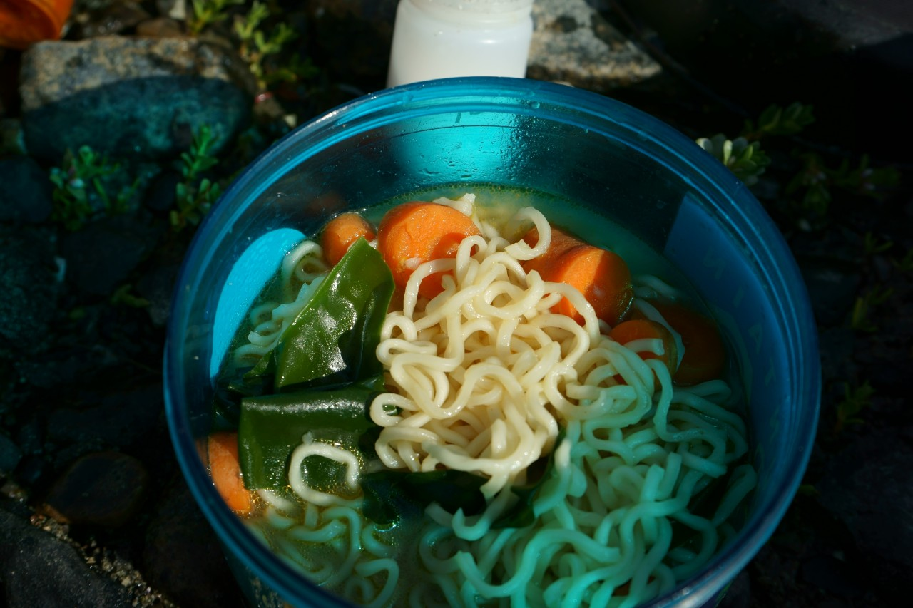 Backcountry Recipes: Ramen Spiced up for Sea Kayking